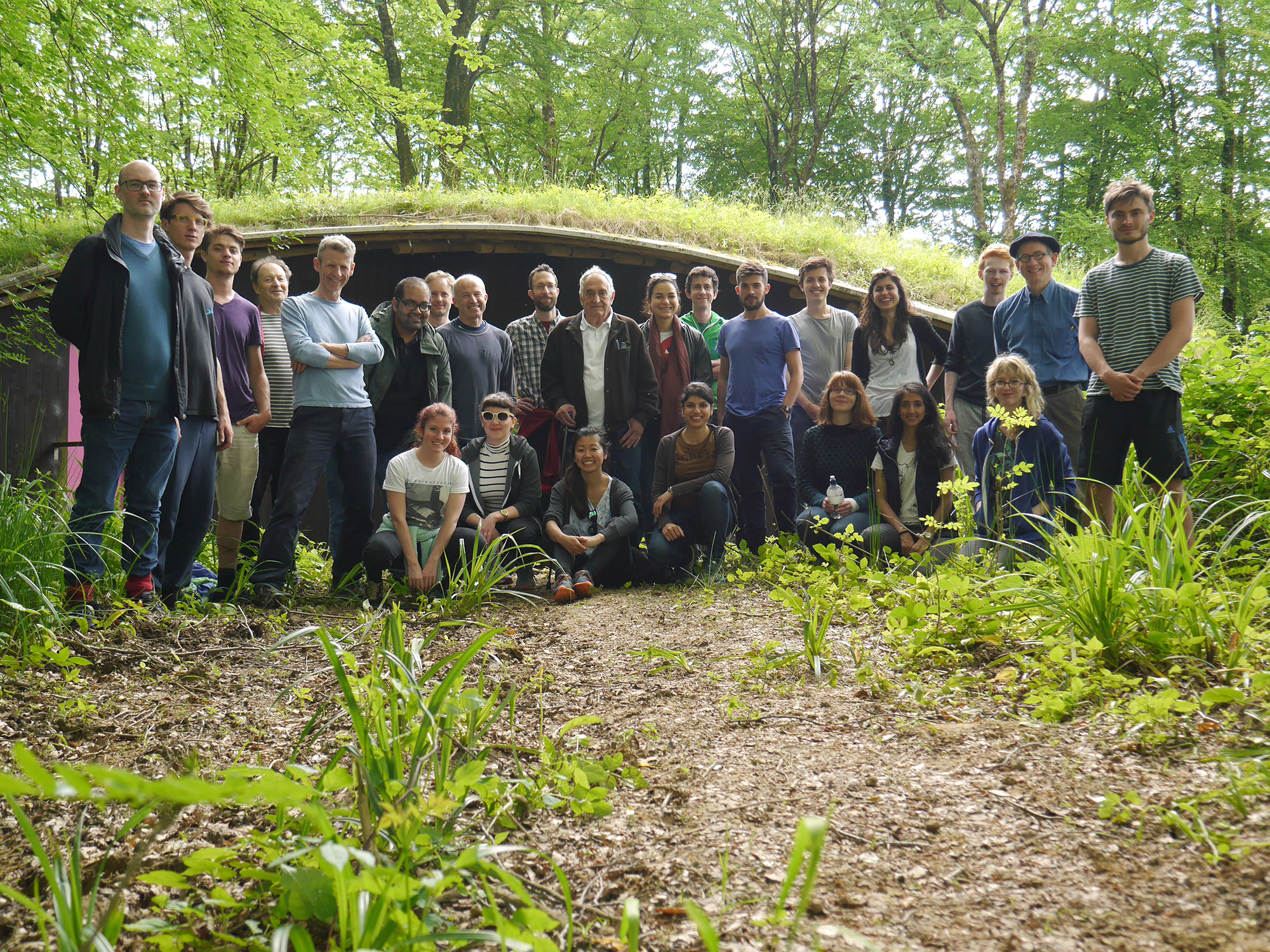 Cullinan Studio visit to Hooke Park