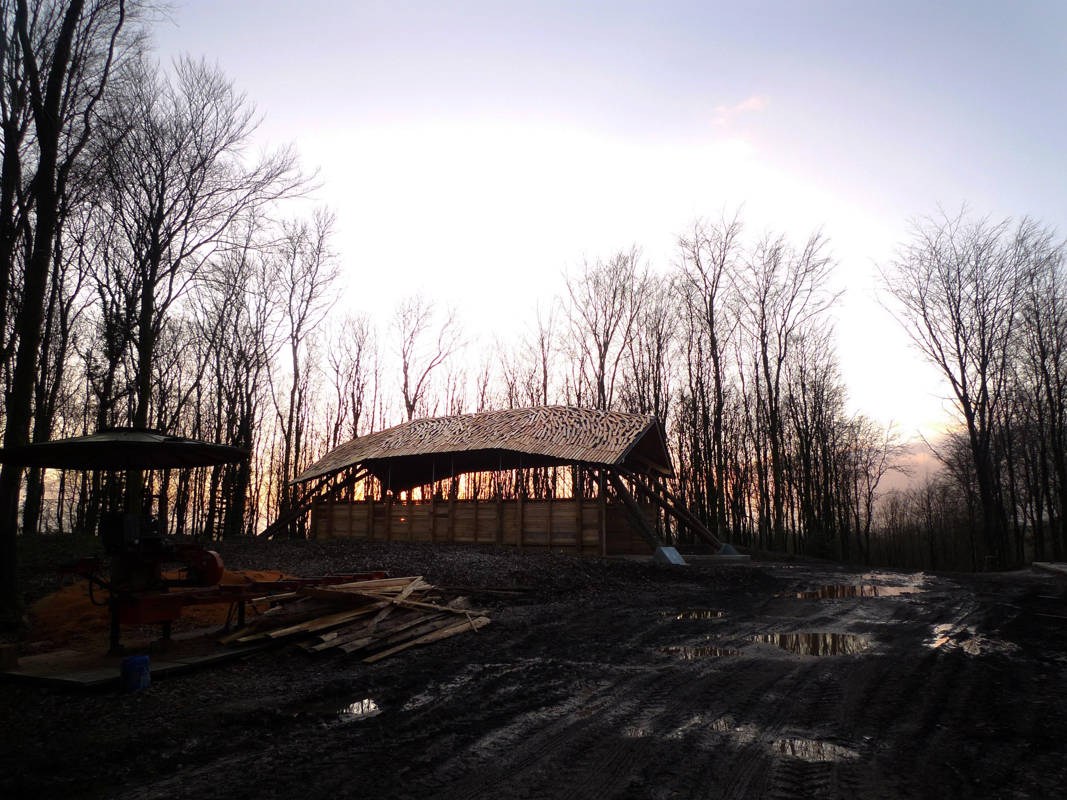 Woodchip Barn complete – photos